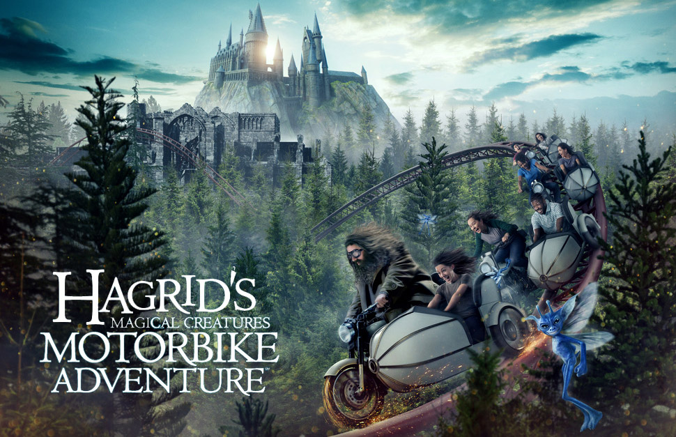 Hagrid's Magical Creatures Motorbike Adventure Moves To Afternoon Openings