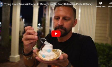 Trying 6 New Treats & Snacks At Mickey's Not So Scary Halloween Party