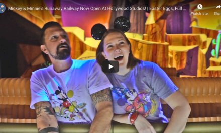 Mickey & Minnie's Runaway Railway Now Open At Hollywood Studios!