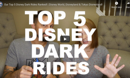 Jenn's Top 5 Disney Dark Rides