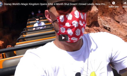 DISNEY WORLD'S MAGIC KINGDOM REOPENING!