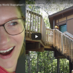 STAYING AT THE TREEHOUSE VILLAS IN SARATOGA SPRINGS RESORT