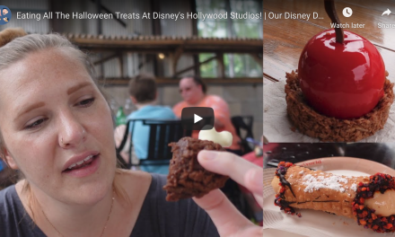 EATING ALL THE HALLOWEEN TREATS AT DISNEY'S HOLLYWOOD STUDIOS