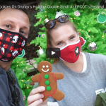 TRYING ALL 6 COOKIES ON DISNEY'S HOLIDAY COOKIE STROLL