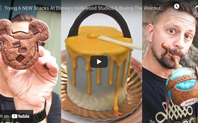 6 NEW SNACKS AT DISNEY'S HOLLYWOOD STUDIOS