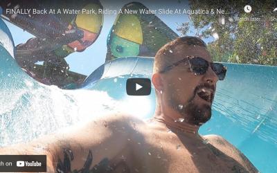 NEW WATER SLIDE & FOOD AT AQUATICA