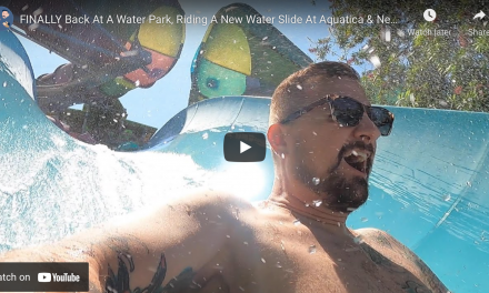 NEW WATER SLIDE & FOOD AT AQUATICA