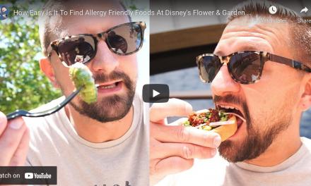 5 ALLERGY FRIENDLY FOODS AT DISNEY'S FLOWER & GARDEN FESTIVAL