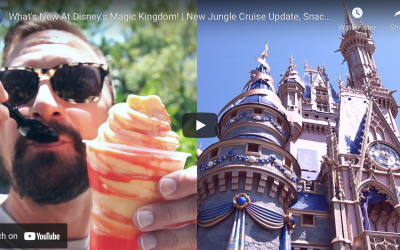 4 NEW THINGS AT DISNEY'S MAGIC KINGDOM!