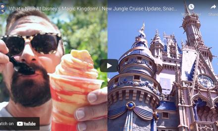 4 NEW THINGS AT DISNEY'S MAGIC KINGDOM!