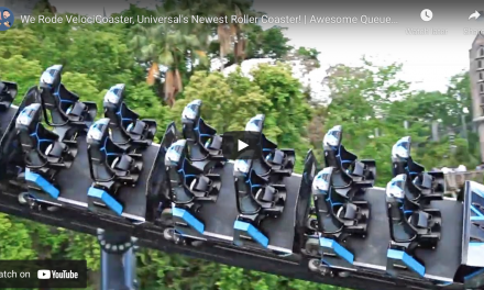 VELOCICOASTER NOW OPEN AT UNIVERSAL'S ISLANDS OF ADVENTURE
