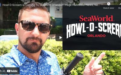 HOWL-O-SCREAM IS COMING TO SEAWORLD ORLANDO